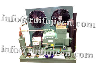 China Semi-hermetic  50HP R404a Bitzer condenser Unit 6FE-50Y for freeze room supplier