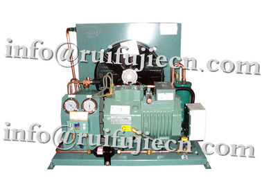 China 5HP Refrigeration Condensing Units Condenser Unit Semi Hermetic Compressor supplier