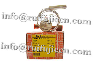 China Refrigeration Parts Interchangeable Orifice Assembly Brass Danfoss Valves Model TES20 067B3352 supplier