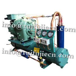 China Horizontal Bitzer Refrigerator condenser Units , 3-40HP semi-hermetic condensing unit supplier