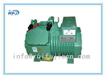 China Semi Hermetic Bitzer Piston Compressor , horizontal Electric refrigerator compressor supplier