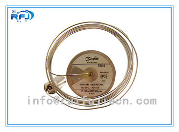 China Thermostatic expansion valve  Refrigeration Parts Model T12  067B3210  R404A/R22/R134a supplier