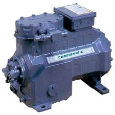 China Copeland Hermetic Compressor S Series Air-cooled 4.5to10HP R404a Refrigerant  -5 to -45 Color Green Steel supplier