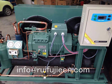 China Spb04km Bitzer Compressor Air Cooled Condenser , Cold Room Condensing Unit supplier