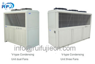 China 10HP Bitzer Original Refrigeration Condensing Units / Air-Cooled Unit 4VES-10Y supplier