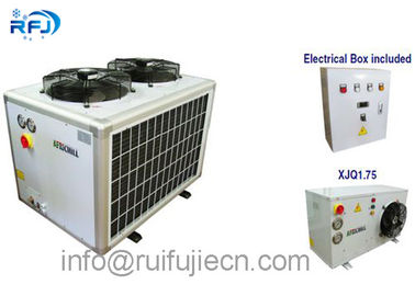 China Hermetic Middle Low Temperature Refrigeration Condensing Units R410 4PES-15Y supplier