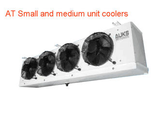 China AUKS Small and medium unit coolers Refrigeration Evaporator for cold storage , AC 380V / 400 V 50/60hz supplier