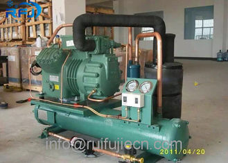 China Cold Store Water Cooled Bitzer 2CES-3Y Compressor Refrigeration Condensing supplier
