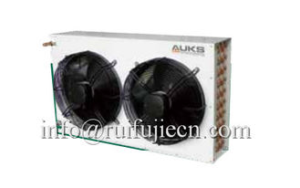 China Industrial Air Cooled Condenser And Evaporator With Two Fans For Central Air Conditioner supplier