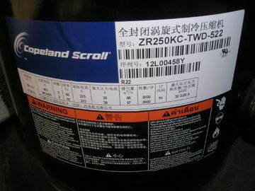 China Zr/Zb Series Emerson Copeland Scroll Compressor Zr250kce-Twd-522 supplier