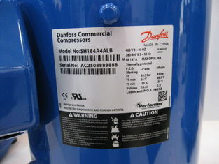 China 15HP R410A SH184A4ALB  Performer 8HP Scroll Compressor AC Power Blue Color supplier