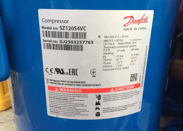 China Danfoss Refrigerator Scroll Compressor Electric R22 SM120S4VC 10HP For Cool Room supplier