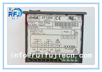 China Black Dixell Thermostatic Controller , Digital Temperature Controller Dual output thermostat XT120C supplier