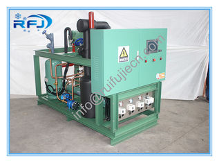 China Air Cooled Screw Compressor Condenser Unit / Damai R404a Condensing Units supplier
