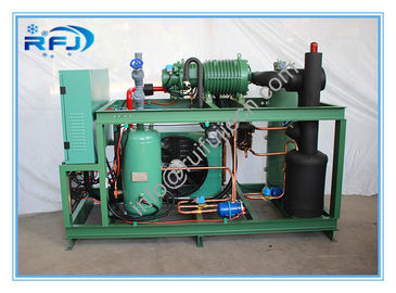 China DM3B50RFL Blast Freezer Condenser Unit , Freezer Compressor Unit Energy Savings supplier
