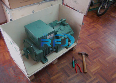 China 4 Cylinders Bitzer Semi Hermetic Reciprocating Refrigeration Compressor 4JE-13Y supplier