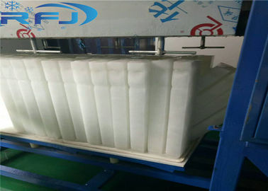 China Commercial Round Block Ice Machine 3 Tons Capacity Aliminium Plate Ice Moulds Material supplier
