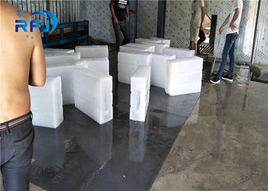 China Durable Industrial Ice Block Maker , Automatic Ice Block Making Machine Air Cooled supplier