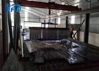 China Snowell Industrial Flake Ice Machine1 To 30 Tons 1.5~2.2mm Thickness For Fish supplier