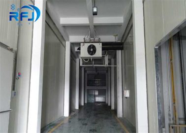 China Fruits / Vegetables Walk In Cooler Freezer , Cold Storage Room Retain Freshness supplier