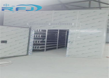 China Cold Storage Industrial Cold Room 30-45kg/m3 PU Foam Density Easy Installation supplier
