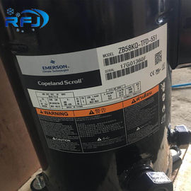 China R404a/R507 Copeland Scroll Compressor 8HP 3 Phase ZB58KQE-TFD-522 AC Power Source supplier