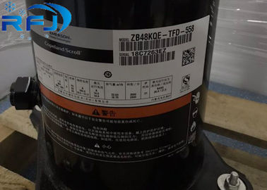 China 9HP Nominal Power Refrigeration Scroll Compressor R404A ZB ZB66KQE ZB66KQE-TFD-550 supplier