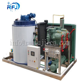 China Fresh Water 1-20 Ton Flake Ice Maker Strong Production Capacity R404A Freezing Medium supplier