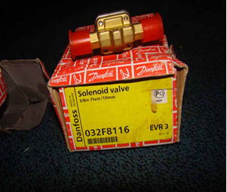 China Danfoss Refrigeration Solenoid Valves EVR3 code 032F8116 supplier