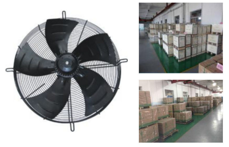 Industrial Axial Fans : External axial flow fan motor ywf d refrigeration