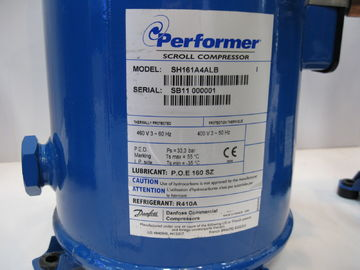 China Performer Scroll Compressor R410 400V/3/50HZ SH161A4ALB for Air Conditioning factory