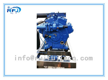 China Low Temperature Screw Refrigeration Compressors HG34e/215-4 High Efficiency Model distributor