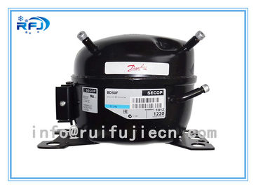 China R404A/ R134A/R22 CE Small and black Secop hermetic  Freezer Refrigeration Compressor factory
