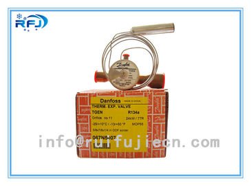 China TGEZ Series Thermostatic Danfoss Refrigeration Valves R407c  TGEZ 067N4157 factory