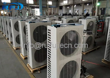 China CE Approval Air Cooled Condenser Unit 380V / 220V Medium Temperature distributor
