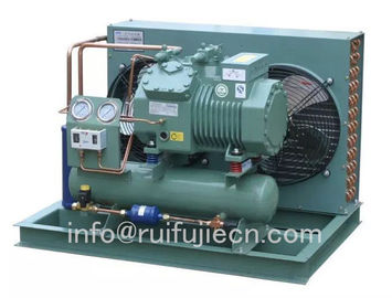 China Bitzer Air Cooled Compressor Condensing Unit SPB07WM for model 4DES-7Y 4DC-7.2Y factory