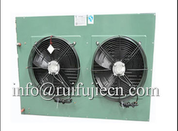 China Black Or White Body Two Fans Condenser Unit For Air Conditioner , CC Approval distributor