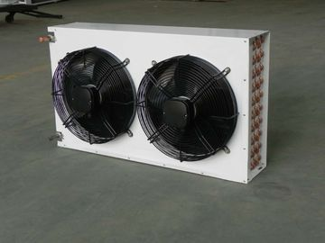 China 220V / 380V Refrigeration Controls Double Fan V Type Dual Fans Condensers KW604A3-LN distributor