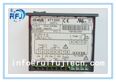 China Black Dixell Thermostatic Controller , Digital Temperature Controller Dual output thermostat XT120C distributor