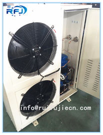 China DD-2.8/15 DD Series Air Cooled Condenser In Refrigeration , White / Black factory