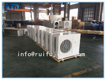 China 24000W Standard Air Cooled Condenser In Refrigeration , Corrosion Resistance DD-37.2/200 factory