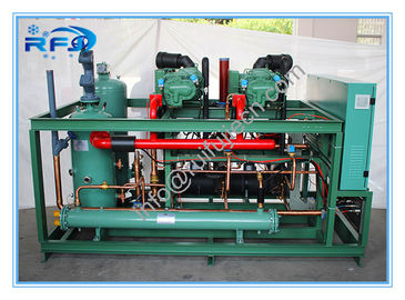 China Two Screw compressor cooler condenser unit R404A 380V 50HZ model DM2B20RFL distributor