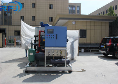 China RFJ 3 Ton Block Ice Machine Automatic Direct Cooling With Tecumseh Compressor distributor