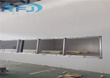 China New Condition Cold Room Cooler Walk In Freezer For Pork Meat / Beef Freezing distributor
