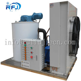 China Industrial Flake Ice Machine 3 Tons 380V/50HZ Bock / Bitzer / Copeland Compressor factory