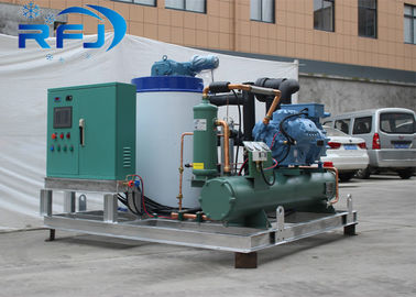 China 1-60t/24h Industrial Tube Flake Ice Making Machine 380V/50HZ With CE Certification distributor