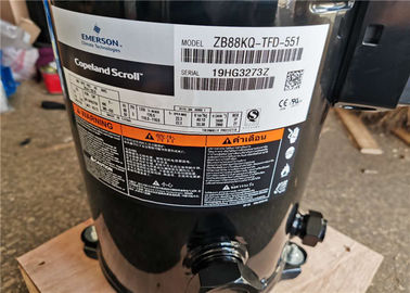 China R22 Copeland Scroll Compressor 12HP 3 Phase ZB88KQ-TFD-551 AC Power Stainless Steel factory