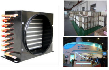 China Air conditioner air cooled condenser coil FNA-0.25/1.3 , refrigerator condenser factory