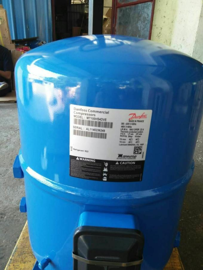 France R22 Maneurop Piston Refrigeration Compressor High Efficiency  MT100HS4DVE