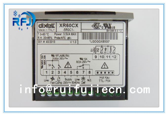 DIXELL Digital innovative temperature controller with off cycle defrost 110, 230Vac XR Series XR10CX ,XR20CX,XR60CX